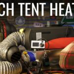How to heat your tent this winter